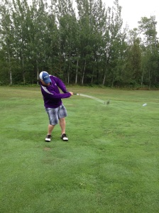 Golfing in Grand Marais, MN
