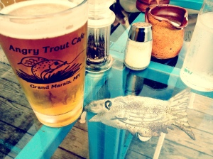 Angry Trout Cafe, Grand Marais, MN