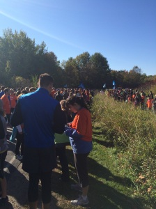 Autumn Woods 10k Classic Race Start
